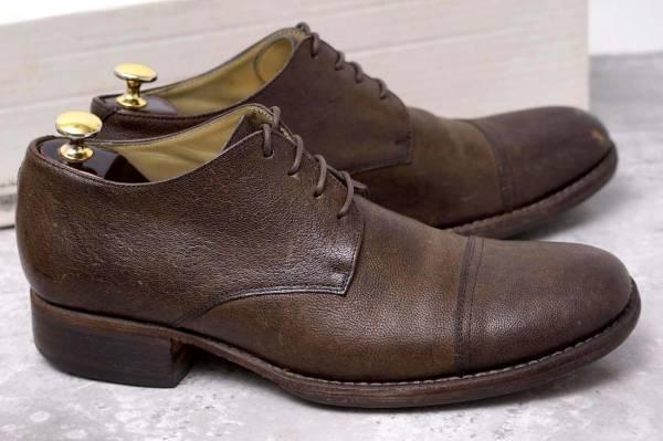 CARPE DIEM カルペ ディエム カジュアルシューズ 靴 S22M cap toe leather derby キャンプトゥ オックスフォードシューズ EU42 x3328_画像2