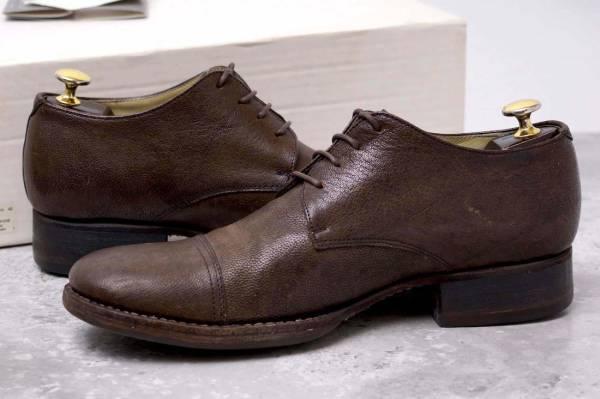 CARPE DIEM カルペ ディエム カジュアルシューズ 靴 S22M cap toe leather derby キャンプトゥ オックスフォードシューズ EU42 x3328_画像3