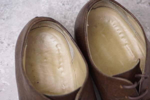 CARPE DIEM カルペ ディエム カジュアルシューズ 靴 S22M cap toe leather derby キャンプトゥ オックスフォードシューズ EU42 x3328_画像9