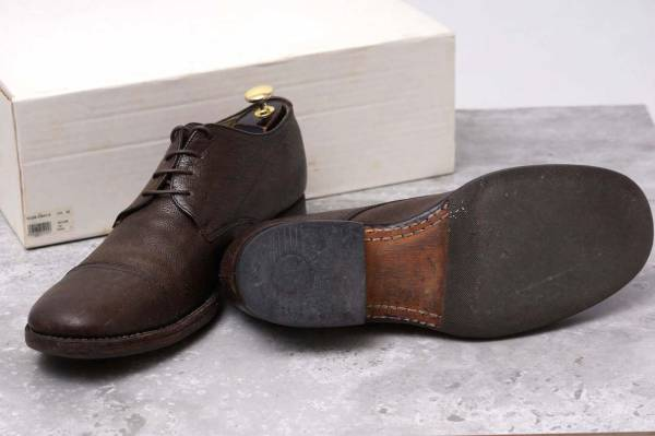 CARPE DIEM カルペ ディエム カジュアルシューズ 靴 S22M cap toe leather derby キャンプトゥ オックスフォードシューズ EU42 x3328_画像7