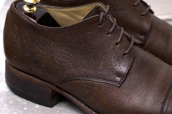 CARPE DIEM カルペ ディエム カジュアルシューズ 靴 S22M cap toe leather derby キャンプトゥ オックスフォードシューズ EU42 x3328_画像5