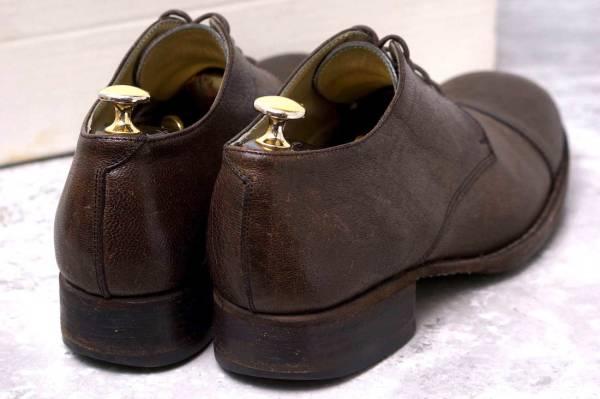 CARPE DIEM カルペ ディエム カジュアルシューズ 靴 S22M cap toe leather derby キャンプトゥ オックスフォードシューズ EU42 x3328_画像4