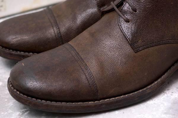 CARPE DIEM カルペ ディエム カジュアルシューズ 靴 S22M cap toe leather derby キャンプトゥ オックスフォードシューズ EU42 x3328_画像6