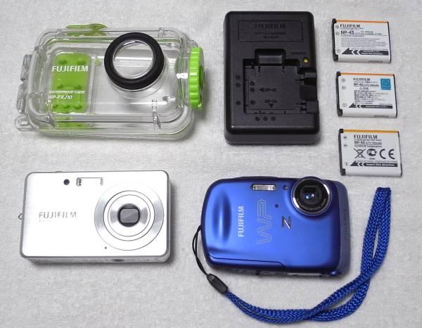 ★ FinePix Z33WP FinePix J15fd WP-FXJ10 充電器 バッテリー 3個 ★