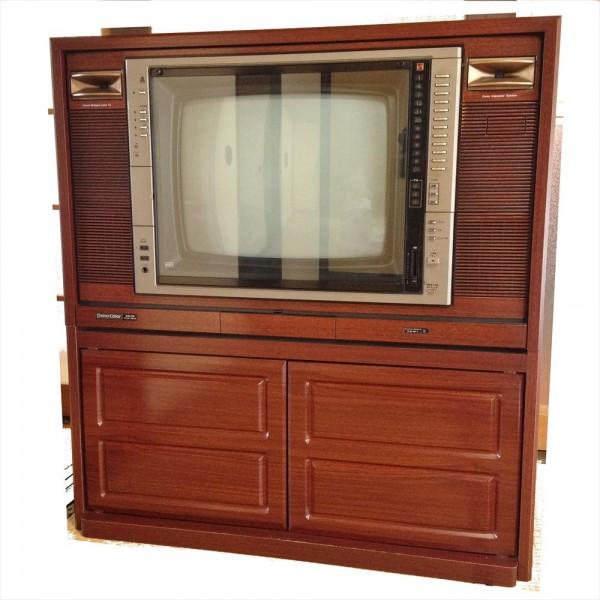 ★良品★年代物 1980年製 20型ナショナルカラーテレビ TH20-B15 魁 さきがけ 松下電器