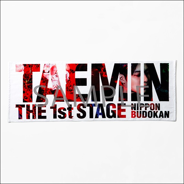 TAEMIN THE 1st STAGE 日本武道館★スポーツタオル