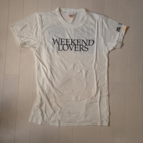 WEEKEND LOVERS タワーレコード コラボ Tシャツ Sサイズ THE BIRTHDAY MANNISH BOYS 斉藤和義 中村達也 ブランキー blankey jet city ライブグッズの画像