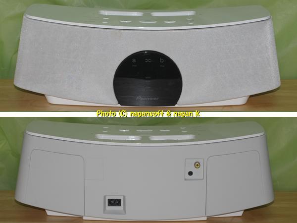 ★即決★ Pioneer XW-NAC1-W (iPodドックスピーカー) ★コネクターに難あり★_画像2