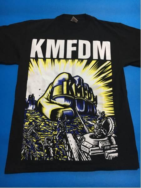 KMFDM Tシャツ ヨーロッパツアー2011/ヴィンテージ.バンド.オルタナ.ニルヴァーナnirvana.pushead.インダストリアルメタルnine inch nails