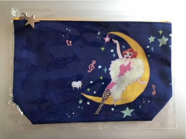 未開封新品 「清水ミチコ ひとりのビッグショー」ツアーグッズ ポーチ 五月女ケイ子 超美品
