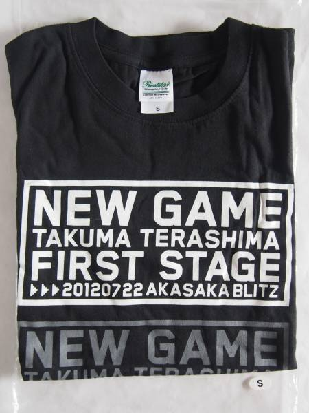 Tシャツ 寺島拓篤 NEW GAME FIRSTSTAGE 2012ライブ size.S/b86-0703