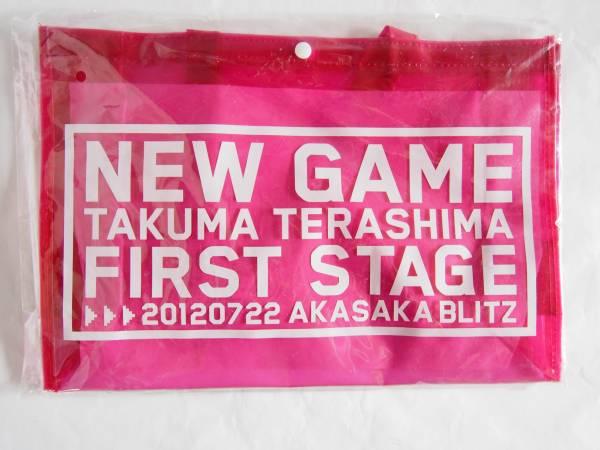 グッズ 寺島拓篤 LIVE NEW GAME FIRST STAGE ビニールトートバッグ/b88-0703