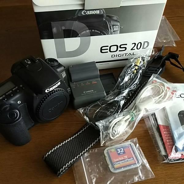 ☆キャノン Canon EOS 20D 一眼レフ 中古☆