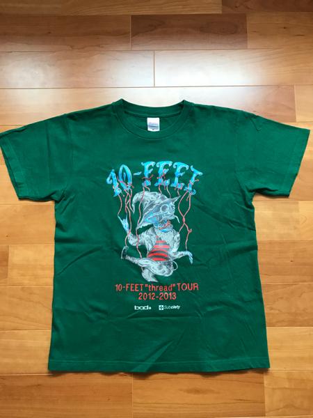 10FEET ライヴTシャツ レア 10-FEET ライブグッズの画像