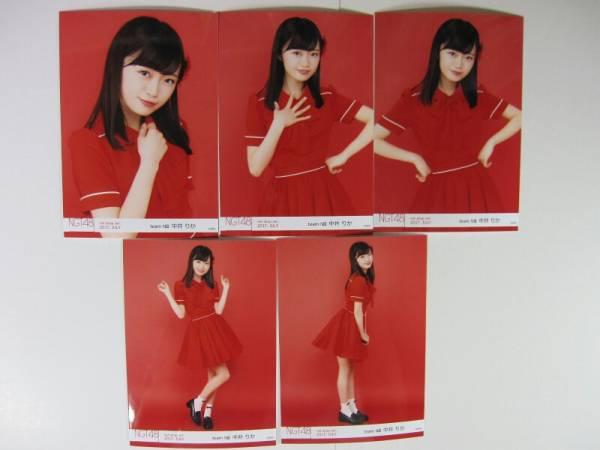 NGT48 月別 生写真 コンプ 2017 7月 July net shop 中井りか ライブグッズの画像