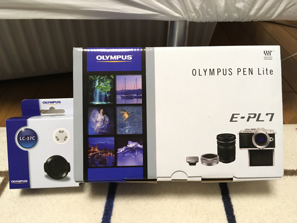 OLYMPUS PEN Lite E-PL7 2016年9月購入 1度使用 保護フィルム貼付済 同梱品は全て入ってます。レンズカバー別購入済