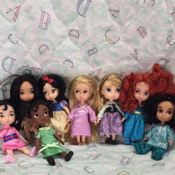 まとめ売り!プリンセス ドール ディズニー ラプンツェル アナ エルサ ジャスミン 白雪姫 ディズニーグッズの画像