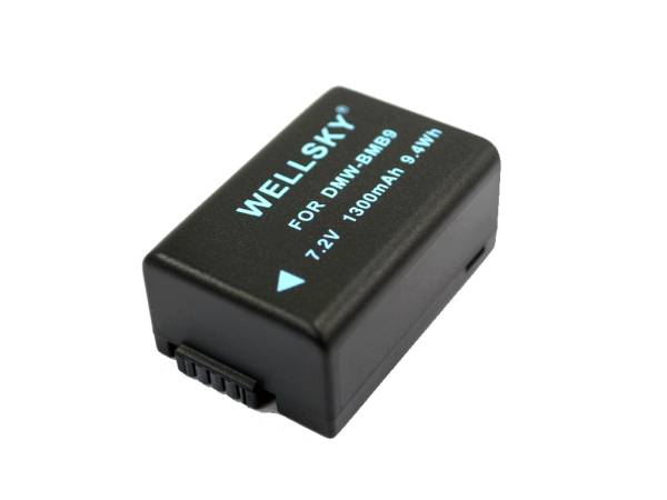 新品 Panasonic パナソニック DMW-BMB9 互換バッテリー LUMIX ルミックス DMC-FZ100 DMC-FZ150 DMC-FZ70 DC-FZ85 _画像3
