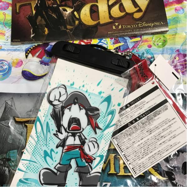 ディズニーパイレーツサマー★人気のスマホ防水ケース♪海賊ディズニーシー♪ミッキーマウス ディズニーグッズの画像