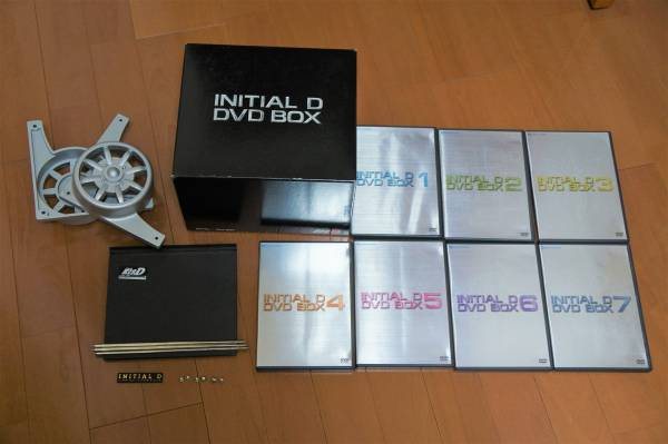 頭文字D DVD-BOX  イニシャルD グッズの画像