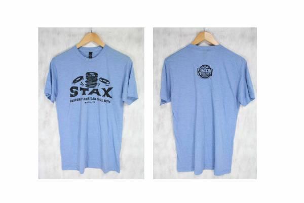 STAX MUSEUM OF AMERICAN SOUL MUSIC Tシャツ Memphis, TN 染み込みプリント M