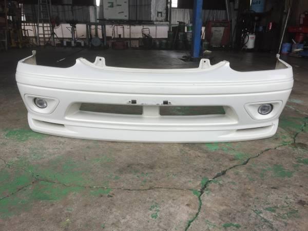 フロントバンパースポイラー FOG付き ハイエース 100系 最終ワゴン 社外 MODS GRAND SPORTS