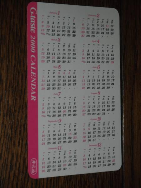 Gtaste 八木沢萌 2000 カレンダー 八神ひろき_画像3