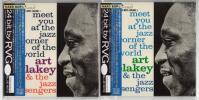 アート・ブレイキー  Art Blakey Meet You At The Jazz Corner Of The World 紙ジャケット