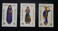 シリア・アラブ共和国-記念切手3種-未使用(2428)