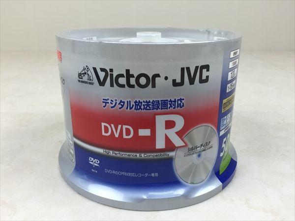 ユ25 ビクター 映像用 DVD-R CPRM対応 1~16倍速 50枚