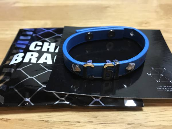 EXO コンサート公式グッズ チャームブレスレット☆チャニョルver
