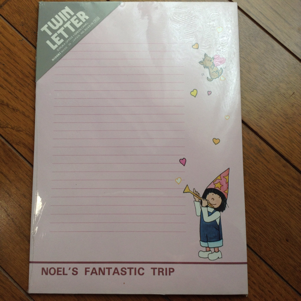 IRUKA NOELS FANTASTIC TRIP 便箋 封筒 未開封 未使用 レトロ