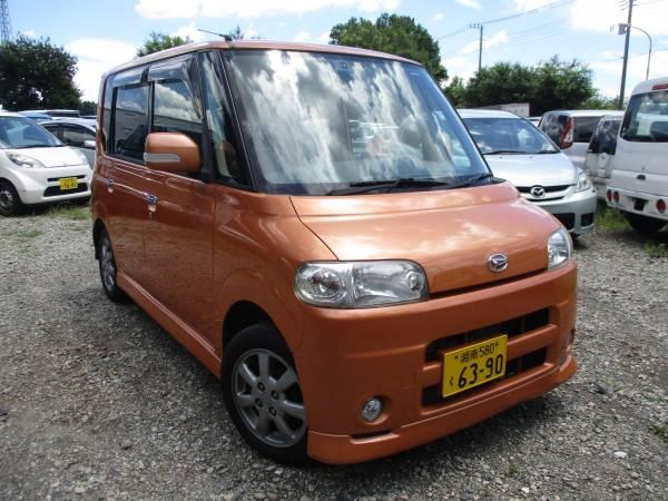 1円~ 埼玉発 タント 車検H30/7まであるのですぐ乗れます ドアバイザー スマートキ
