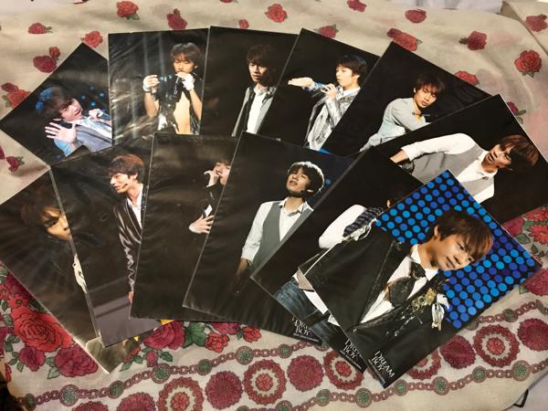 KAT-TUN 中丸雄一 ステージフォト ステフォ ジャニーズ 公式写真 セット