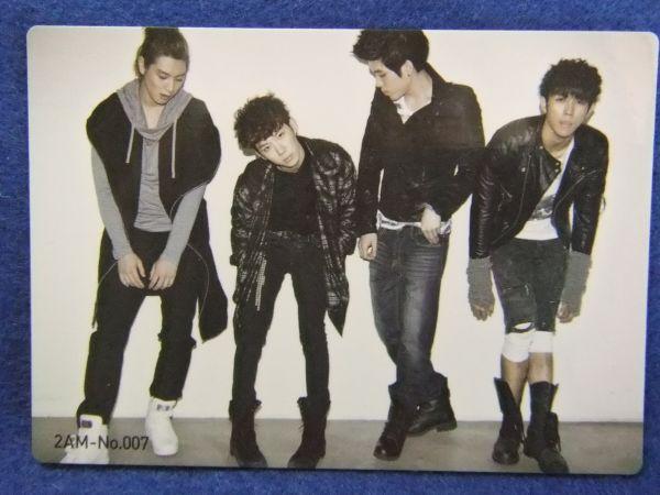 韓国 K-POP  2AM トレカ007  297