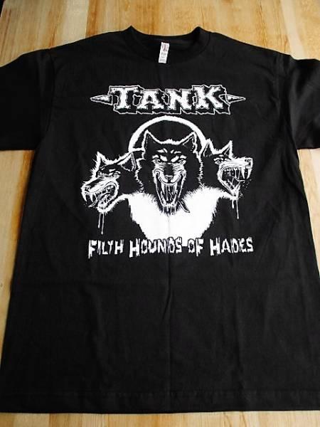 TANK Tシャツ Filth Hounds of Hades 黒M / motorhead metallica iron maiden bulldozer venom warfare