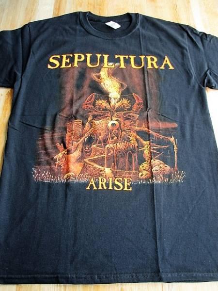 SEPULTURA Tシャツ arise 黒M セパルトゥラ / slayer sodom possessed death kreator destruction