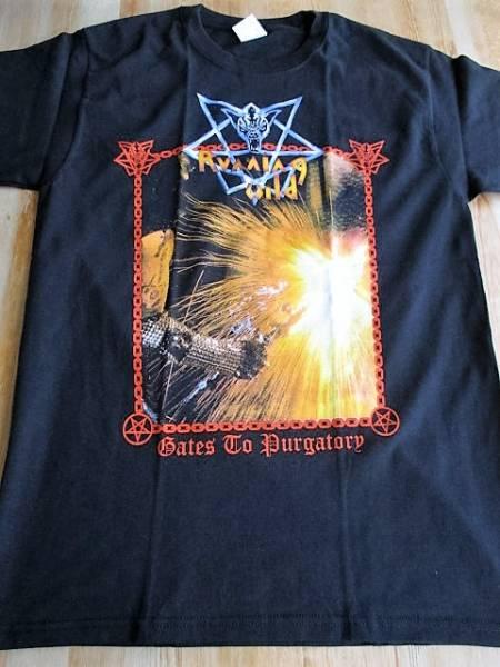 RUNNING WILD Tシャツ gates to purgatory 黒M ランニング・ワイルド / iron maiden metallica judas priest accept
