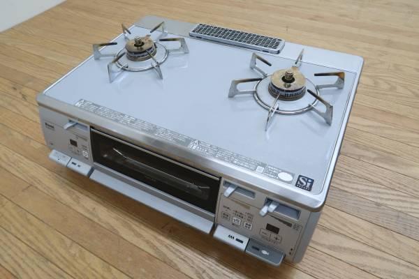 美品/リンナイ/Rinnai/RTE62VCTPG/RTS62WKR-R/ガスコンロ/ガステーブル