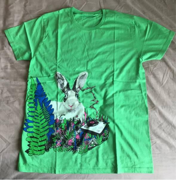 【未使用】小沢健二★2010年ひふみよツアーTシャツ★グリーン ライブグッズの画像