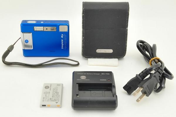コニカミノルタ MINOLTA DiMAGE Xg デジタルカメラ ケース付き ●6530