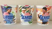 シーフードヌードル K 3個セット 日清食品 株主優待 錦織圭選手サインをデザインしたナルト入り
