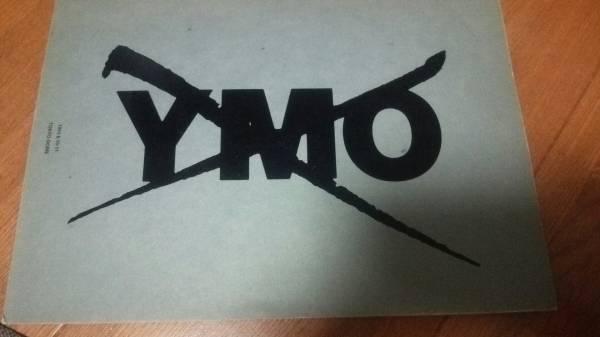 YMO 93年テクノドンライブコンサートパンフレット TECHNODON ステッカーつき 坂本龍一 細野晴臣 高橋幸宏