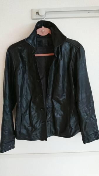 【秋~春着用可美品】TomorrowLand(トゥモローランド)レザーシャツジャケット boowy 氷室 GLAY等ロック好きにも