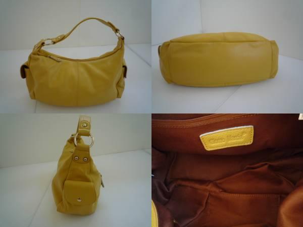 【お買い得!】 ◆ Giomo Marcia ◆ レディース ハンドバック 黄色系 (CM54Z035)_画像3