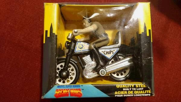 "BUDDY L バディエル アメコミ スーパーヒーロー SECRET WARS アイアンマンバイク VEHICULE ""BRUTE"" JAPAN 日本製 箱入り  レア グッズの画像"