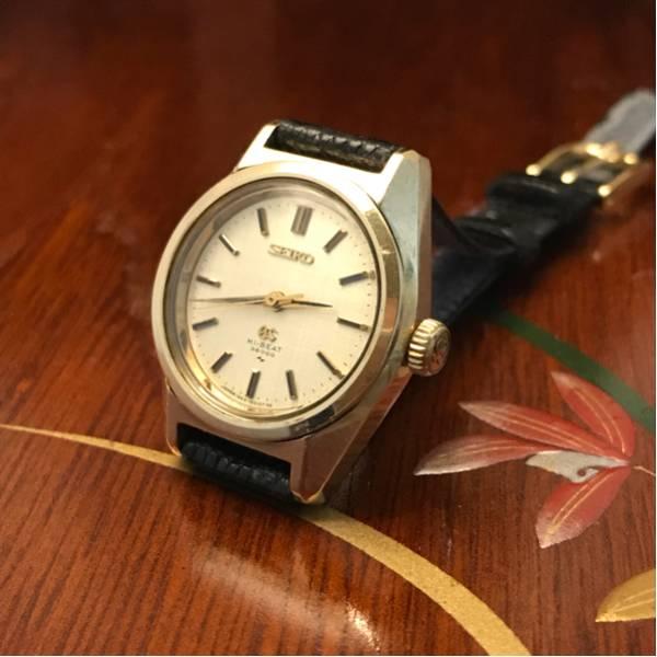 グランドセイコー 19GS CAPGOLD 1964-0010 キャップゴールド 手巻 可動品 ビンテージ 国産古時計 珍品? 希少品? GSメダル レディース