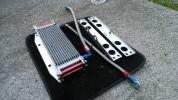 GPZ900R 9インチ13段 オイルクーラー アクティブ アールズホース付き。