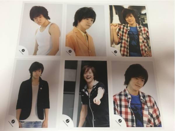 They武道 宇宙Six★林翔太★2011年ジャニーズショップ公式写真6枚