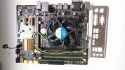 ASUS B85M-G + Pentium Dual Core G3220 (純正ファン付き) + Transcend DDR3-1600 8GB ( 4GB 2枚 )